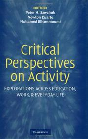 Critical Perspectives on Activity