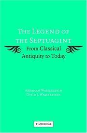The legend of the Septuagint PDF