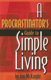 A Procrastinator's Guide to Simple Living PDF