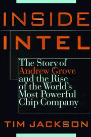 Inside Intel by Jackson, Tim