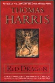 Red dragon by Harris, Thomas
