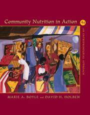 Cover of: Community nutrition in action by Marie A. Boyle