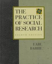 The practice of social research by Earl R. Babbie