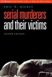 Serial murderers and their victims PDF