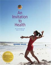An Invitation to Health PDF