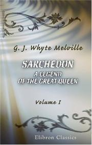 Sarchedon: a Legend of the Great Queen PDF