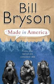 Made in America by Bill Bryson