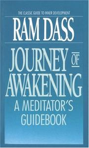 Journey of awakening by Ram Dass., Ram Dass