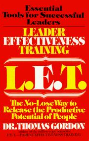 Leader Effectiveness Training PDF
