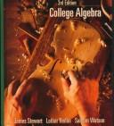 Cover of: College algebra | James Stewart