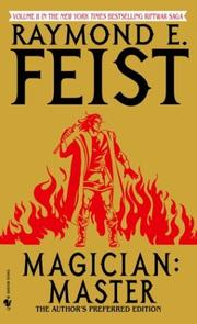 Cover of: Magician by Raymond E. Feist