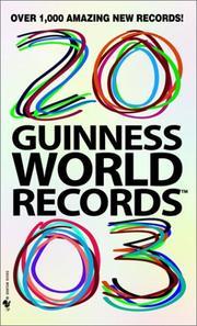 Guinness World Records 2003 (Guinness World Records) PDF