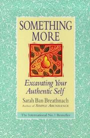 Something more by Sarah Ban Breathnach