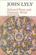 Selected prose and dramatic work PDF