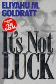 It's Not Luck PDF
