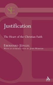Justification by Eberhard Jungel, Eberhard Jngel