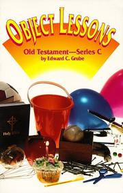 Object Lessons by Edward C. Grube