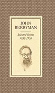 Selected poems, 1938-1968 PDF