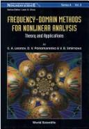 Frequency-domain methods for nonlinear analysis by Gennadiĭ Alekseevich Leonov