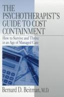 The psychotherapist's guide to cost containment PDF