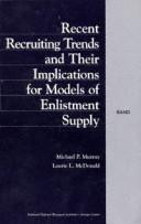 Recent recruiting trends and their implications for models of enlistment supply PDF