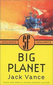Big planet by Jack Vance