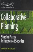 Collaborative planning by Healey, Patsy.