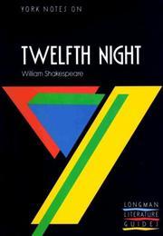 York Notes on William Shakespeare's Twelfth Night PDF