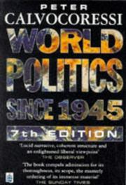 World politics since 1945 PDF