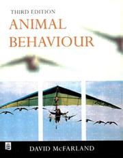 Animal Behaviour; Psychobiology, Ethology and Evolution (3rd Edition)