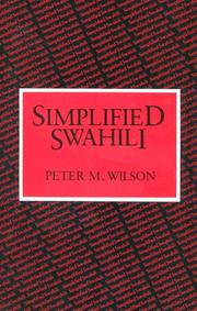 Simplified Swahili by P. M. Wilson