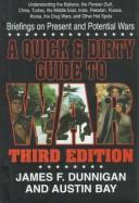 A quick and dirty guide to war by James F. Dunnigan