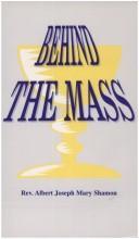 Behind the Mass PDF