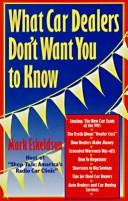 What car dealers don't want you to know PDF