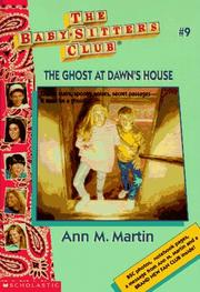 The Ghost at Dawn&#39;s house by Ann M. Martin