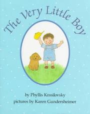The very little boy by Phyllis Krasilovsky