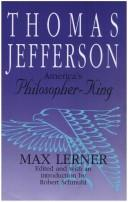 Thomas Jefferson by Max Lerner