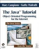The Java tutorial by Mary Campione