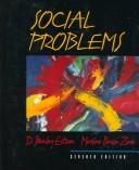 Cover of: Social problems by D. Stanley Eitzen