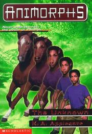 Cover of: The Unknown (Animorphs, Book 14)