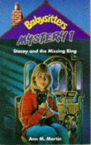 Stacey and the Missing Ring PDF