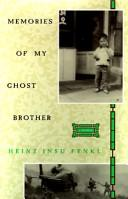 Memories of my ghost brother PDF