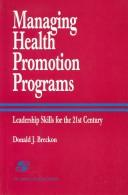 Managing health promotion programs PDF