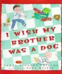 I wish my brother was a dog PDF