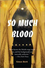 So Much Blood by Simon Brett