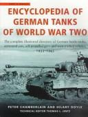 Encyclopedia of German tanks of World War Two by Peter Chamberlain