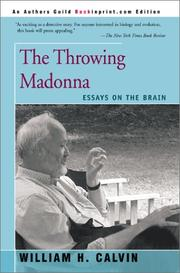 The throwing madonna by William H. Calvin