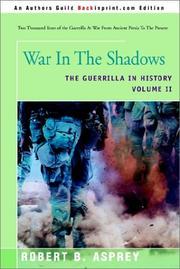 War in the Shadows PDF