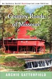 Country roads of Missouri PDF