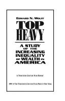 Top Heavy by Edward N. Wolff